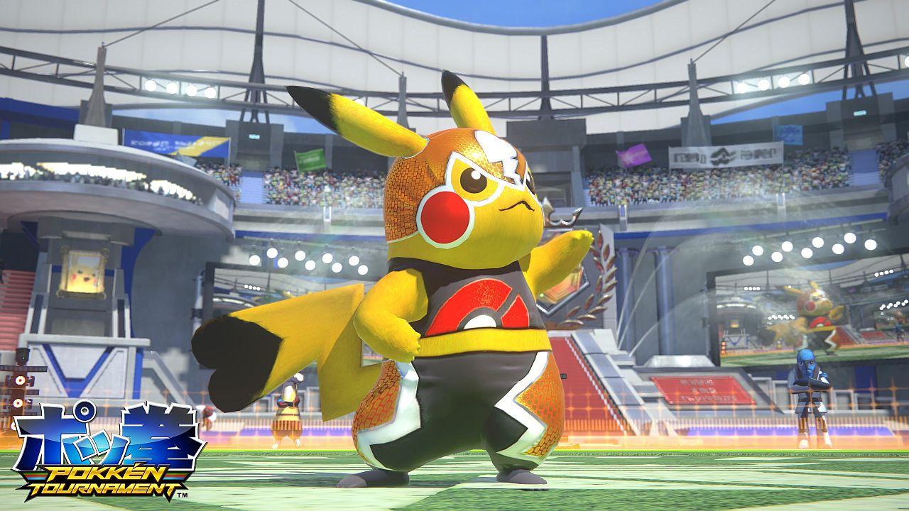 Pokken Tournament: Un filmato mostra le mosse avanzate di Pikachu Libre, Machamp e Pikachu