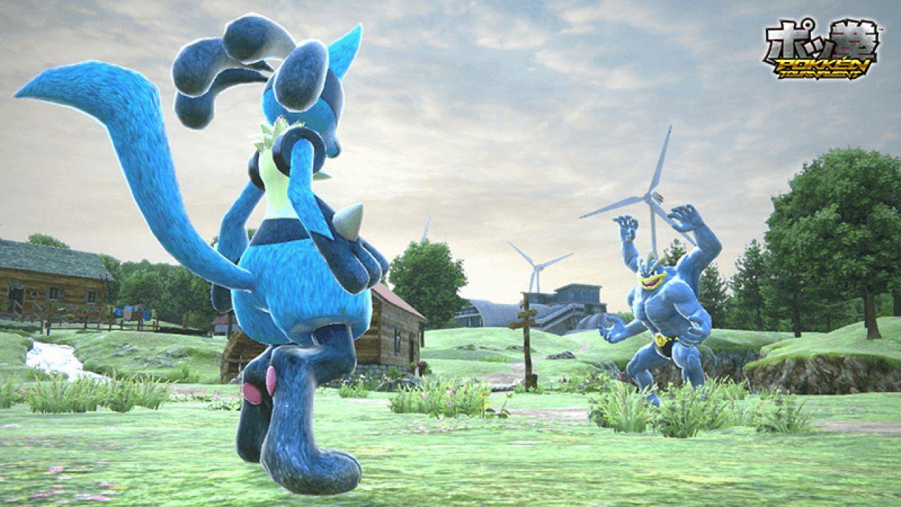 Pokken Tournament supporterà il multiplayer locale per due giocatori