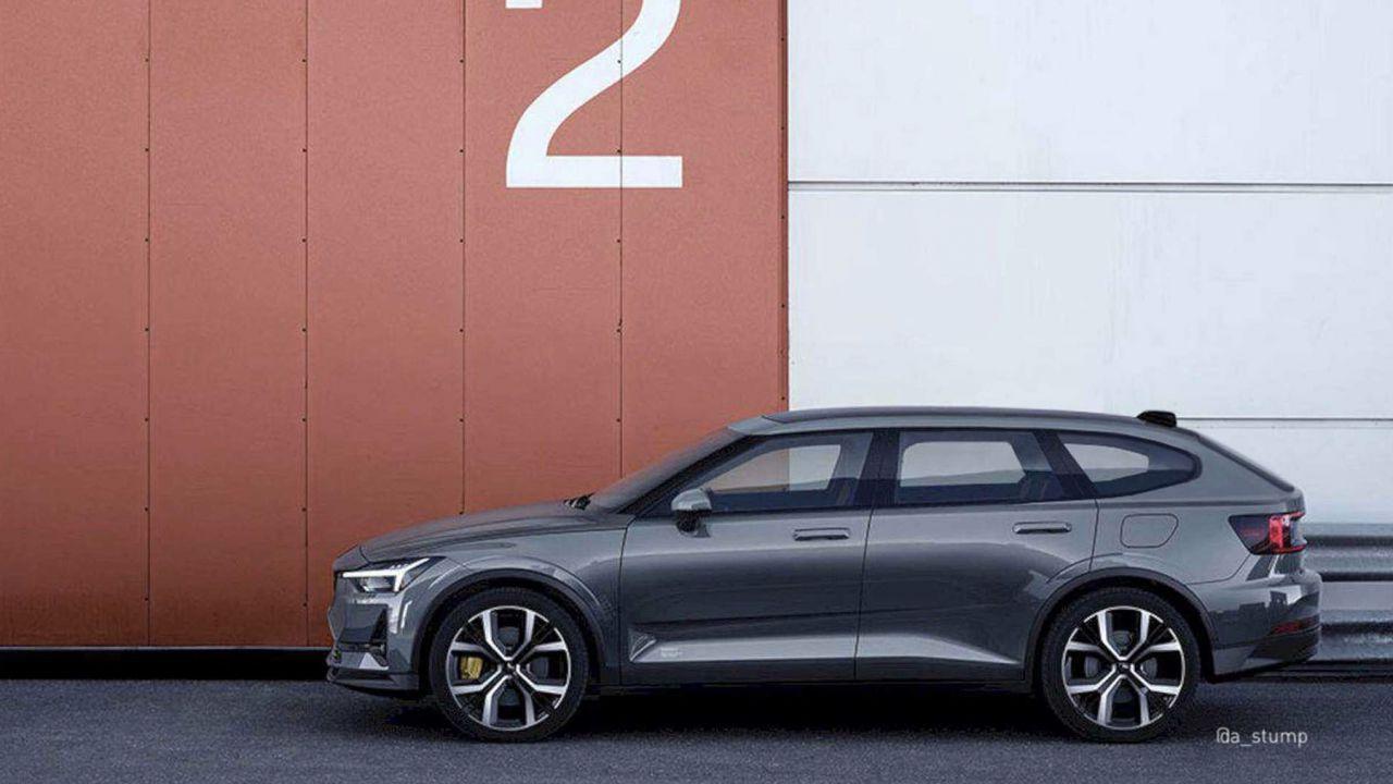 Polestar 2 Wagon: così Volvo potrebbe sfidare la Tesla Model Y