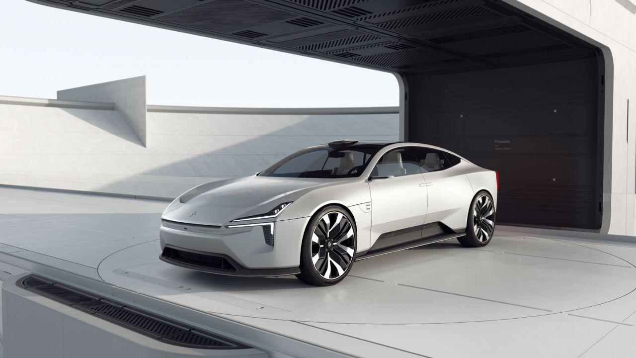 Polestar Precept, le immagini della nuova sportiva che sfida Tesla e Porsche