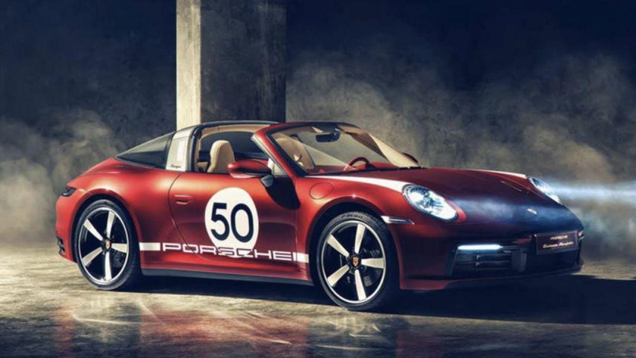 Porsche 911 Targa 4S Heritage Design Edition: un omaggio ai gloriosi anni 50-60