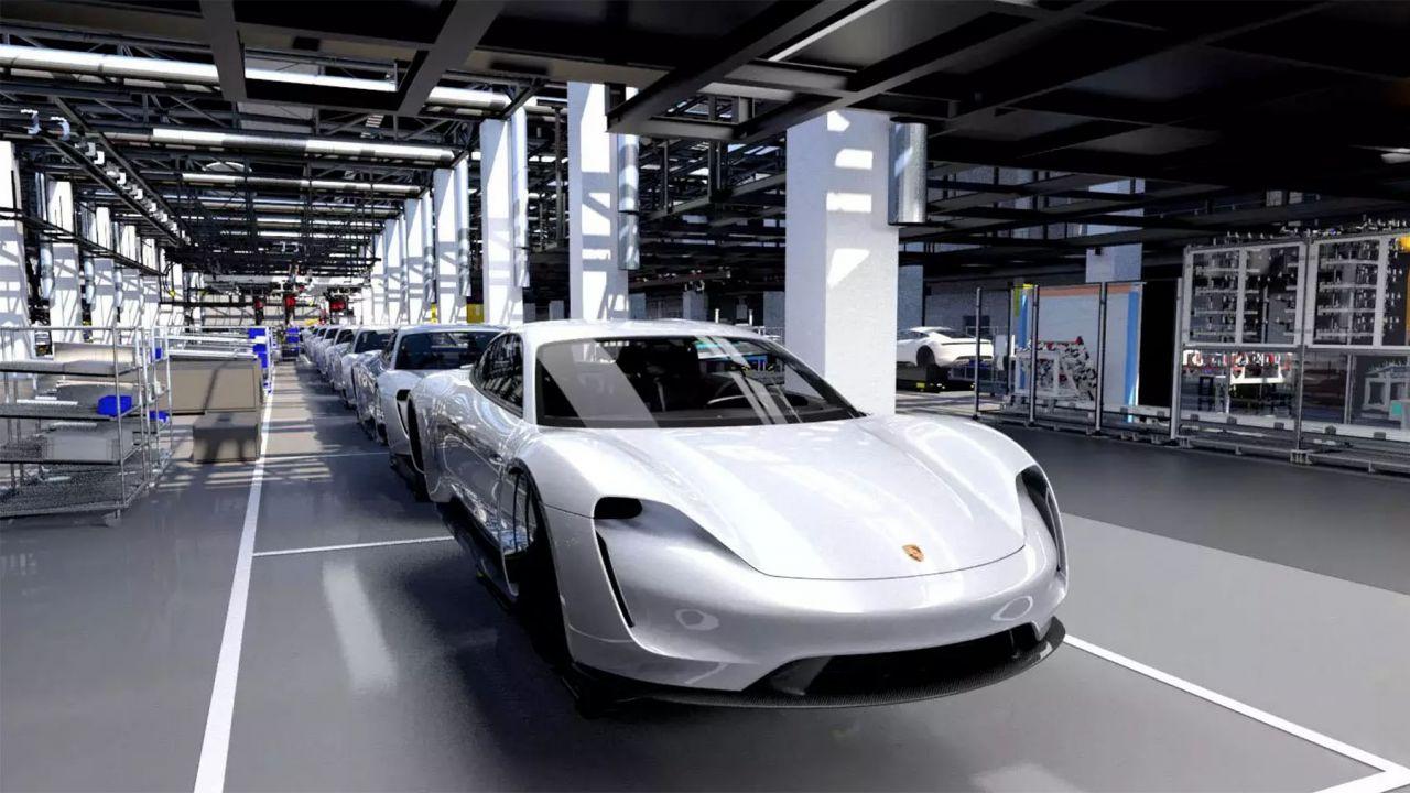Porsche si prepara a costruire la Taycan elettrica: ecco come saranno i nuovi stabilimenti