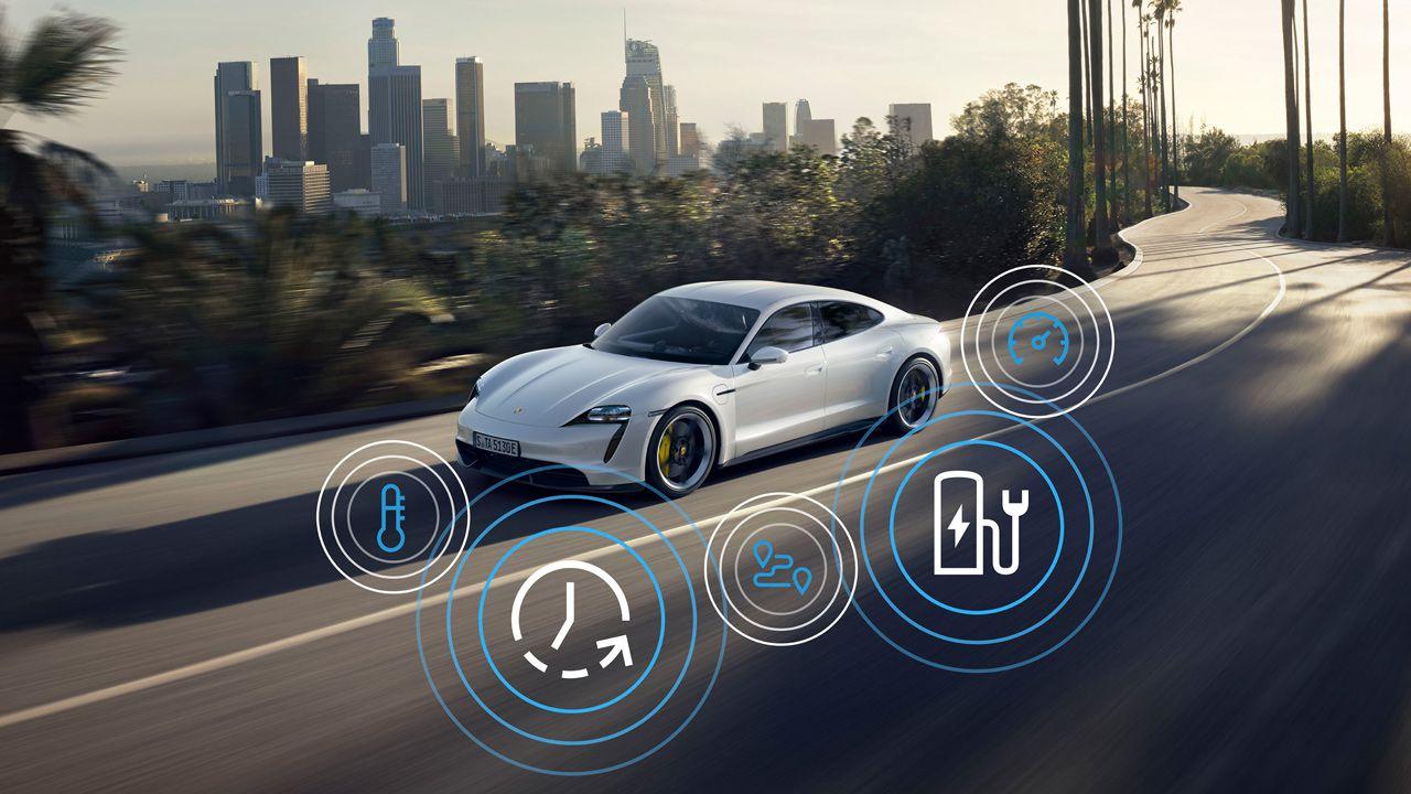 Porsche Taycan 2021, tantissime nuove funzioni e accelerazione da urlo
