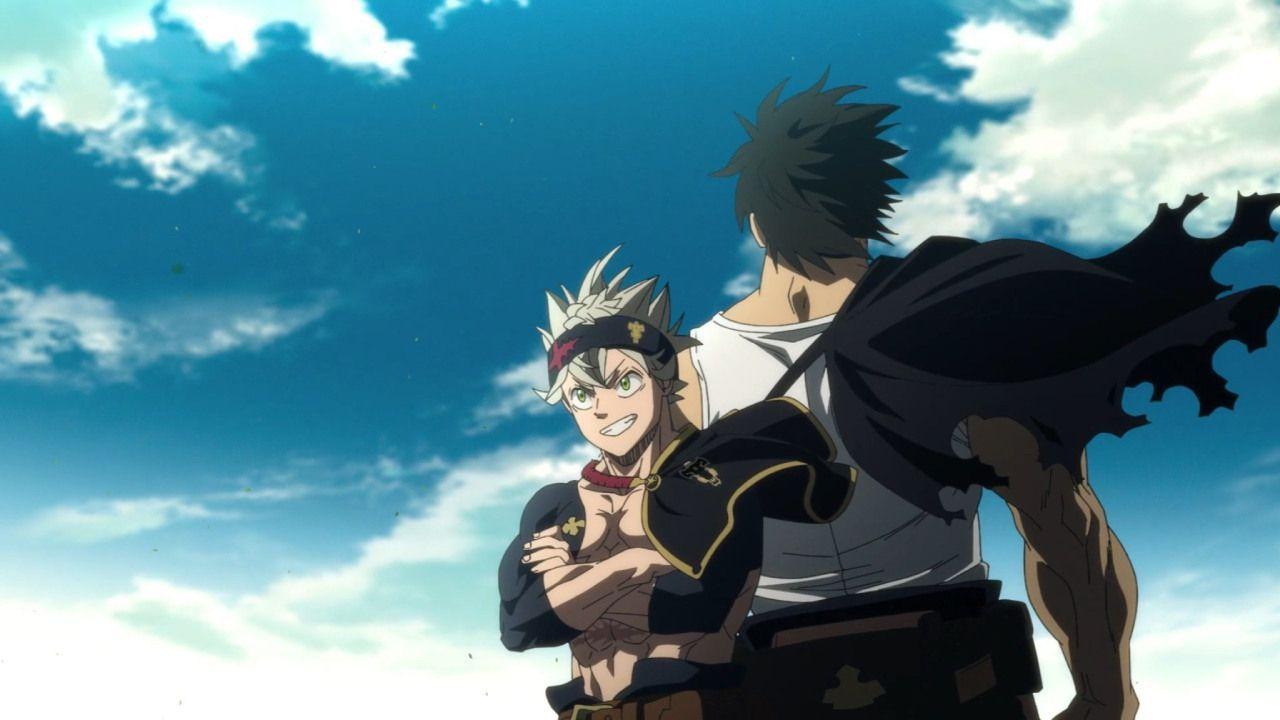 Preview e immagini per Black Clover 167: Asta e Yami si lanciano contro Dante