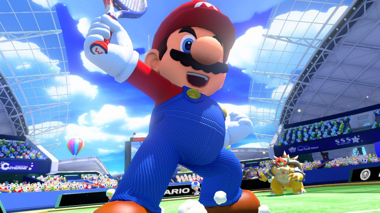 Prime immagini di Mario Tennis Ultra Smash per Wii U