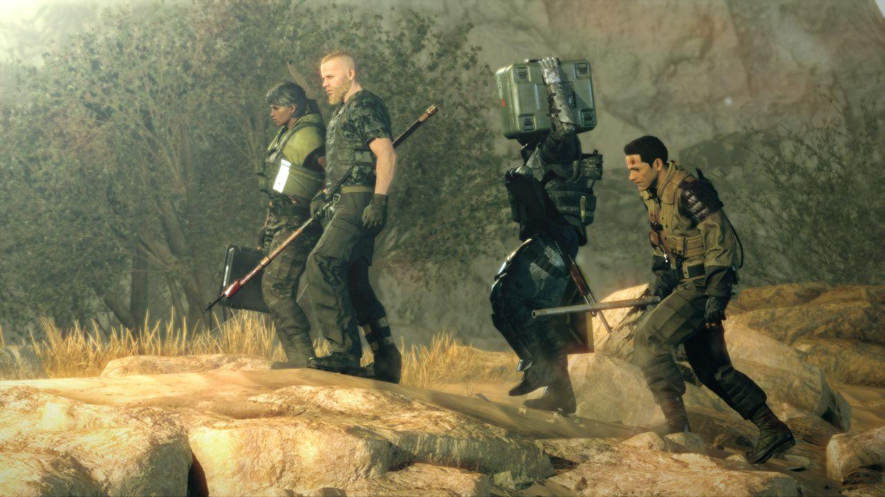 Prime immagini di Metal Gear Survive