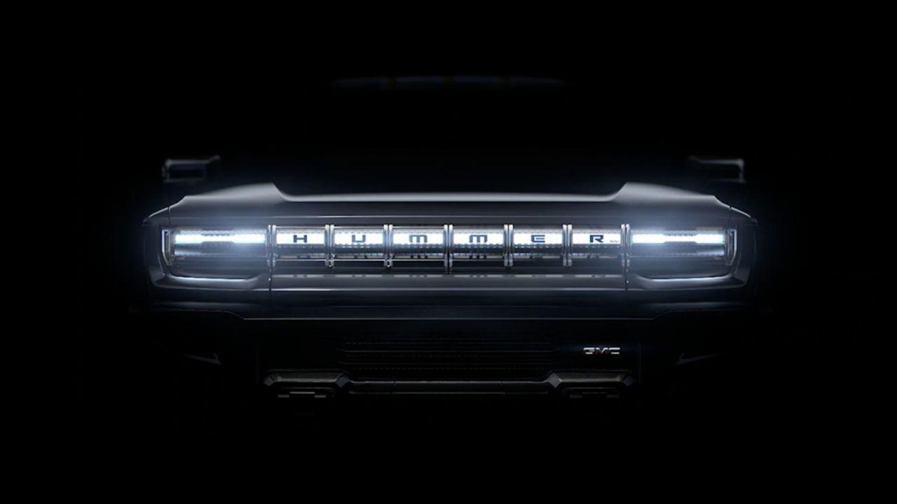 Primo teaser del nuovo Hummer elettrico: avrà 1.000 CV di potenza