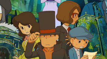 Professor Layton and the Azran Legacy in arrivo in autunno su Nintendo 3DS
