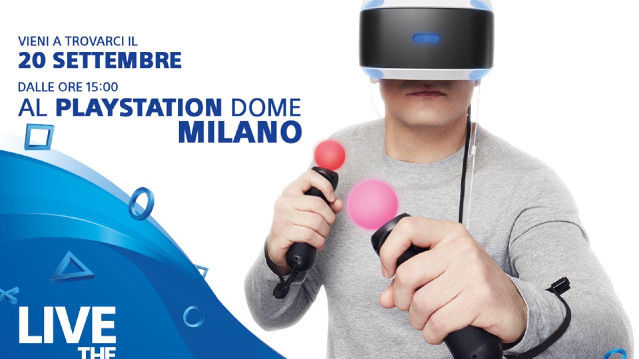 Prova in anteprima PlayStation VR oggi alle 15:00, ultimi posti disponibili