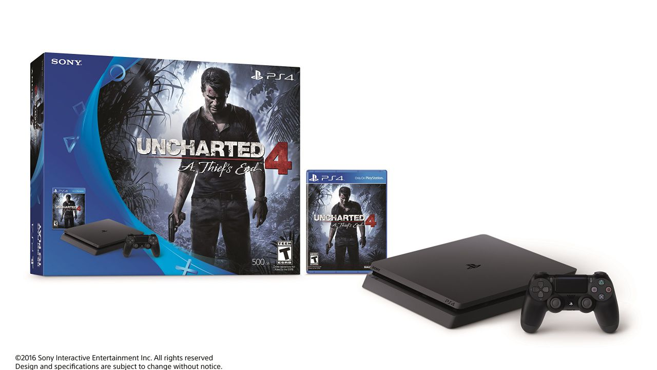 PS4 Slim: in arrivo un bundle con Uncharted 4 e Rise of the Tomb Raider