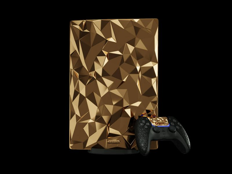 PS5: 20 KG of 18K gold is enough? A console for millionaires!