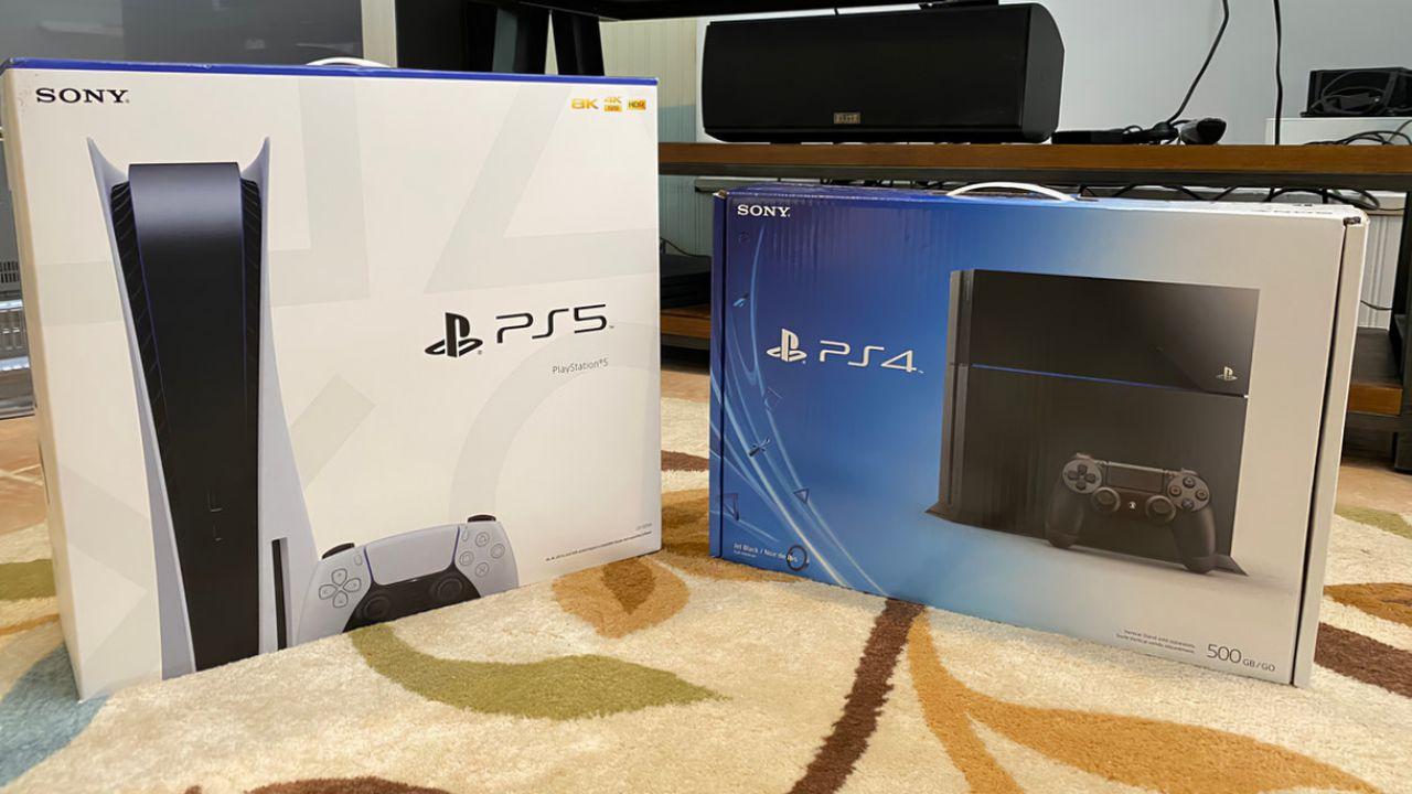 PS5: la confezione è enorme! Ecco il confronto con la scatola di PS4