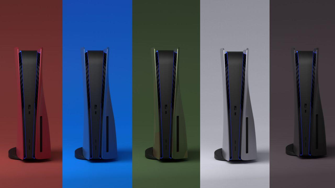 PS5, Dbrand sfida Sony: produrrà cover personalizzate