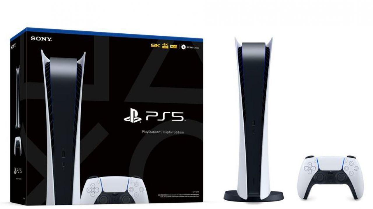 PS5 digitale come funziona e cosa cambia?