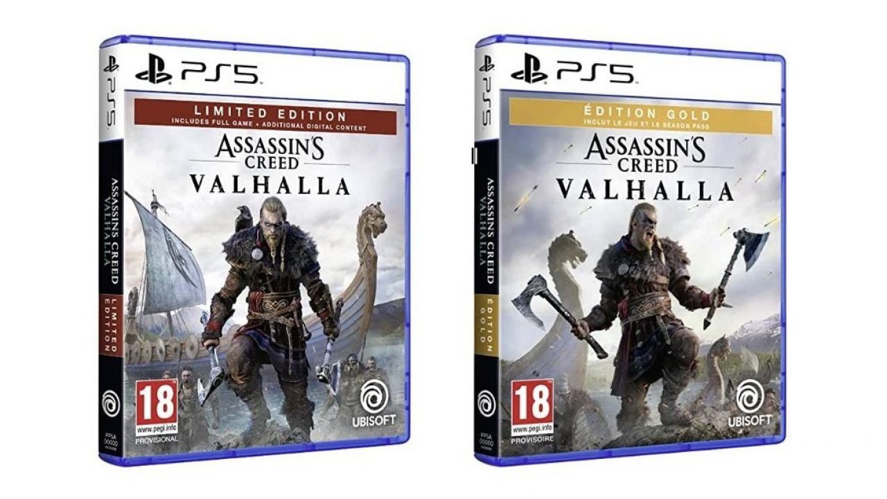 PS5 esce assieme a Xbox Series X e S? Lo suggerisce la data di AC Valhalla in Francia