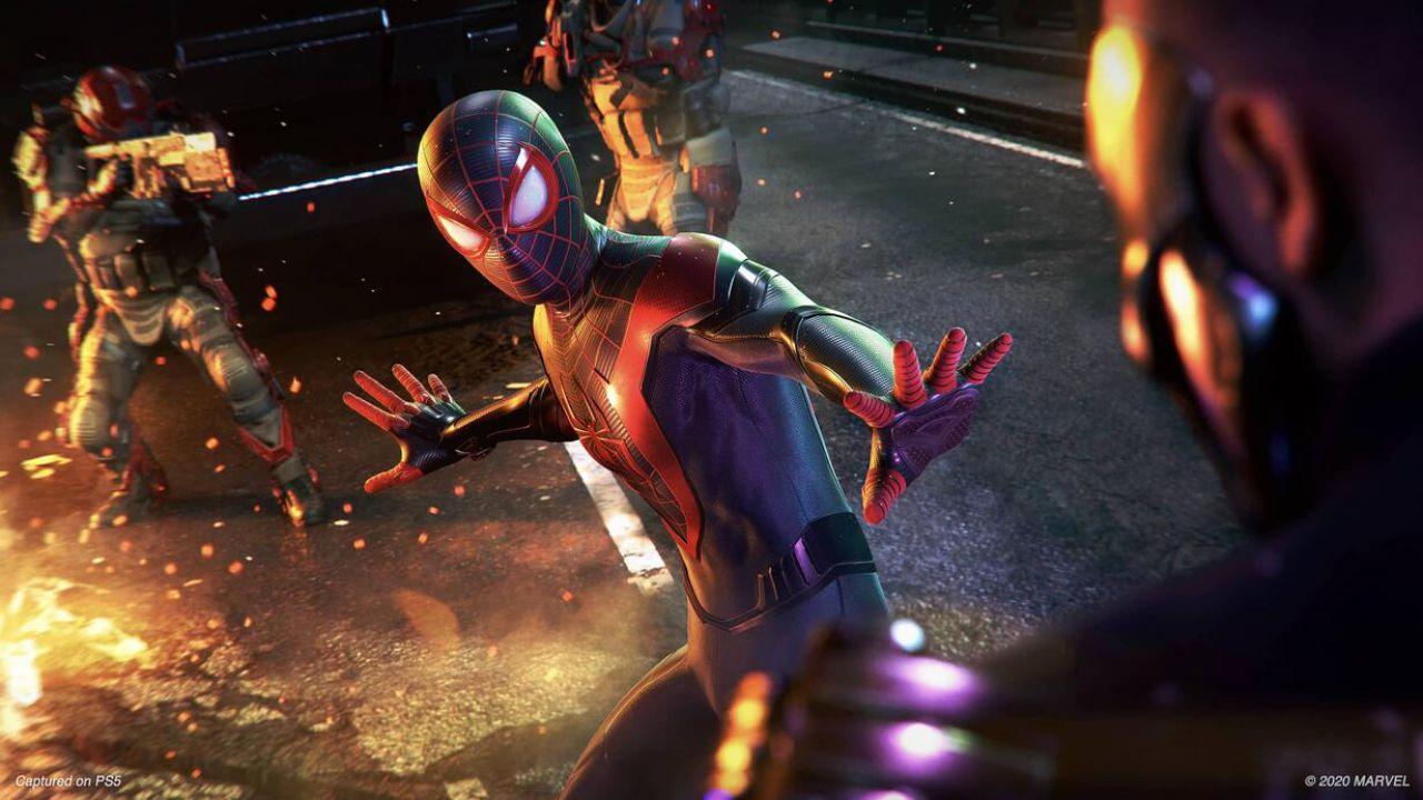 PS5 SSD: quanto spazio occupano Spider-Man Miles Morales e Demon's Souls?
