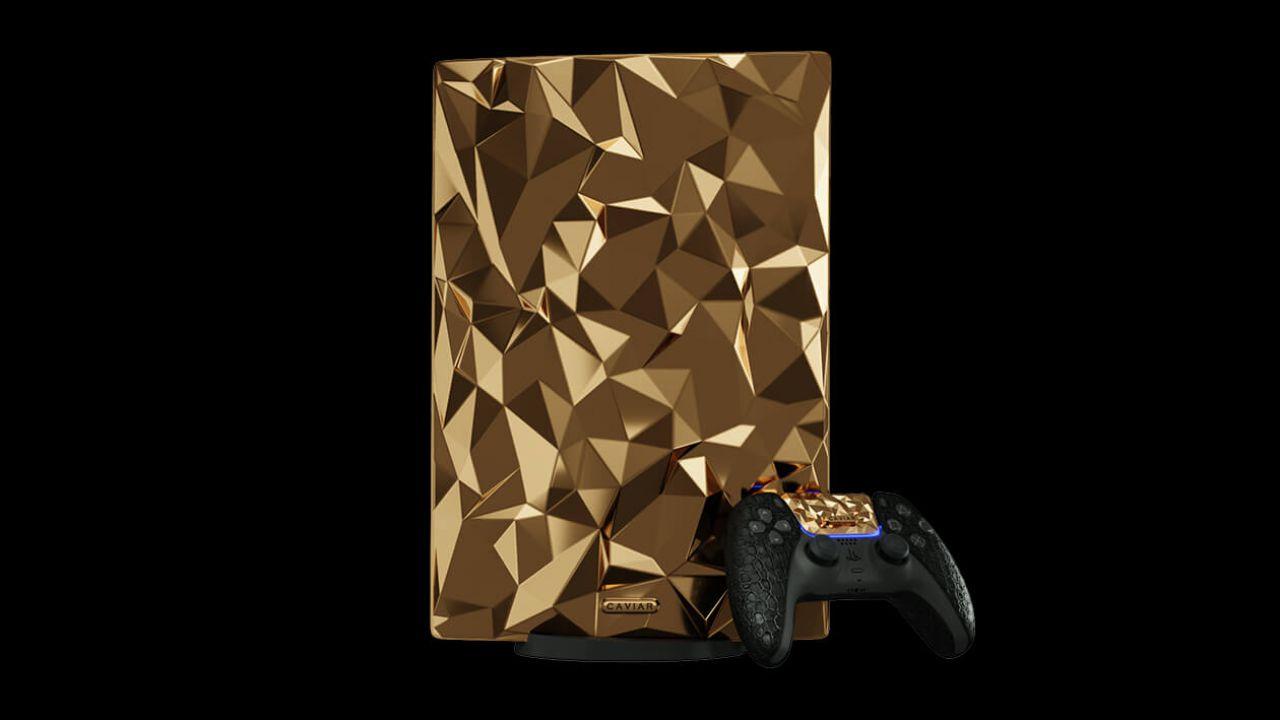 PS5, un'edizione speciale realizzata con 20 Kg di oro 18 carati: prezzo folle!