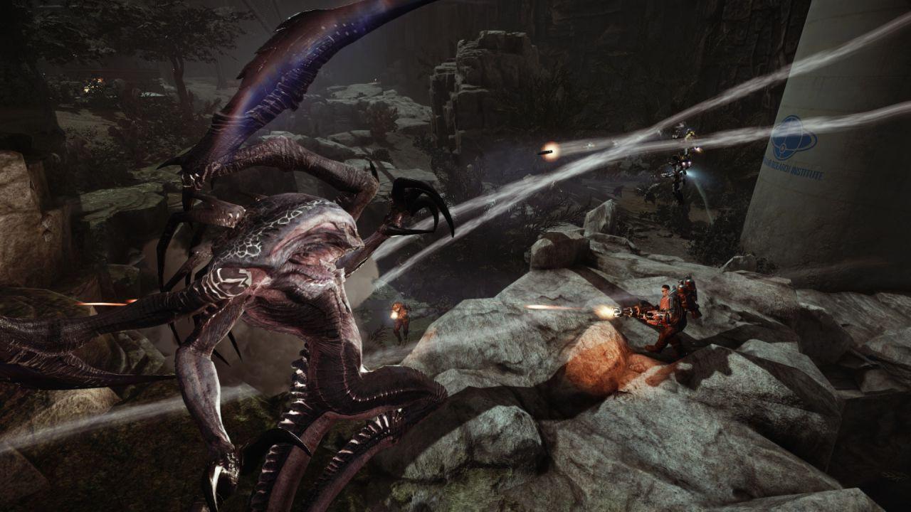 Pubblicata una nuova patch per la versione PC di Evolve