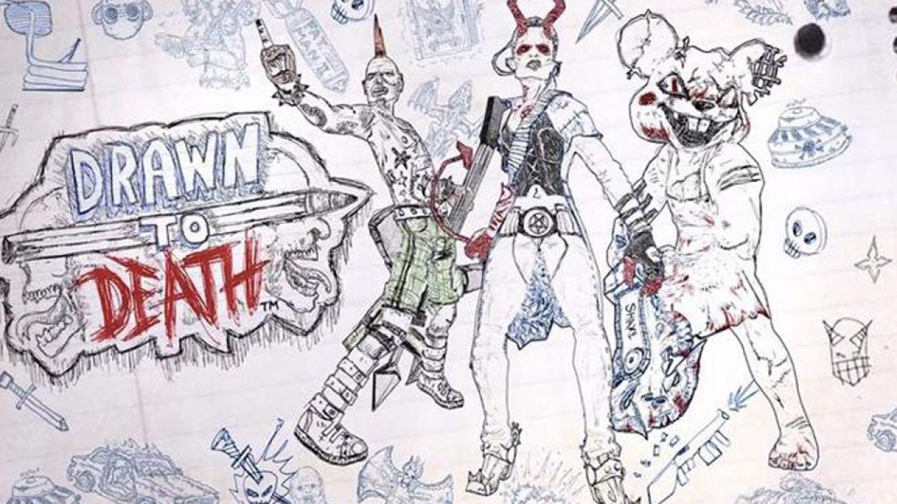 Pubblicate nuove immagini di Drawn to Death