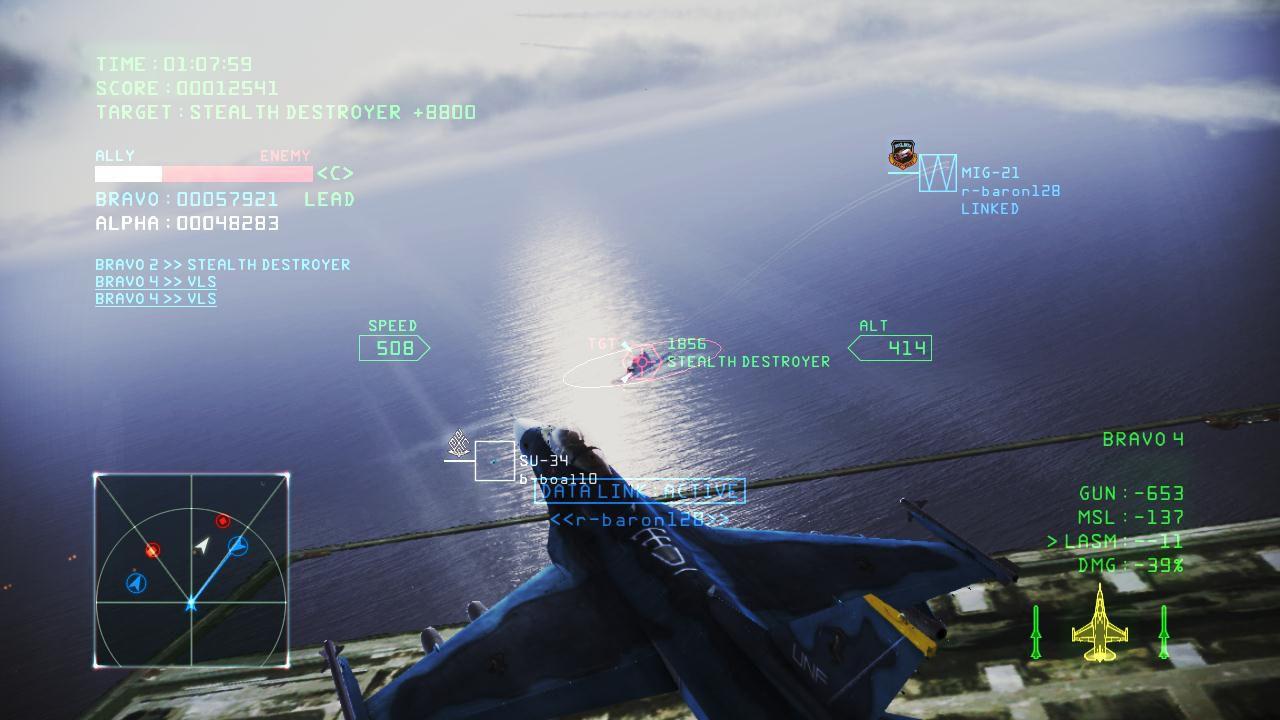 Pubblicato un nuovo aggiornamento di Ace Combat Infinity