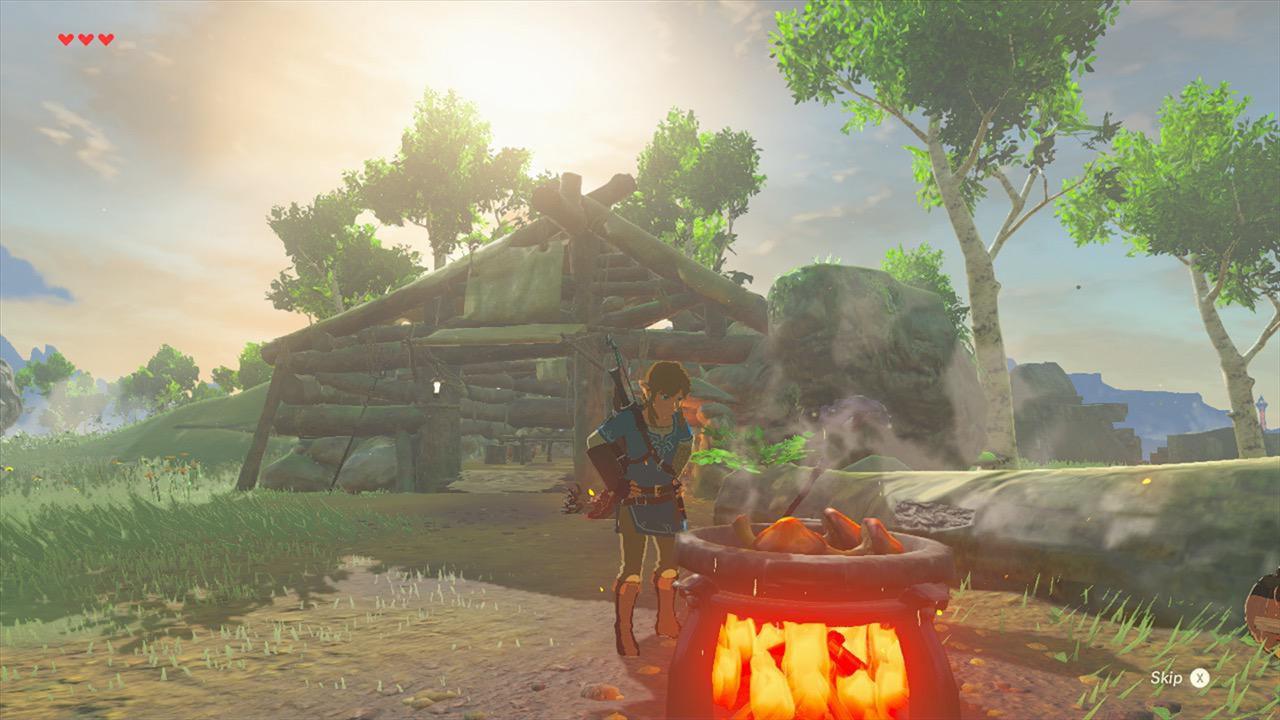 Pubblicato un nuovo video gameplay di Zelda Breath of the Wild