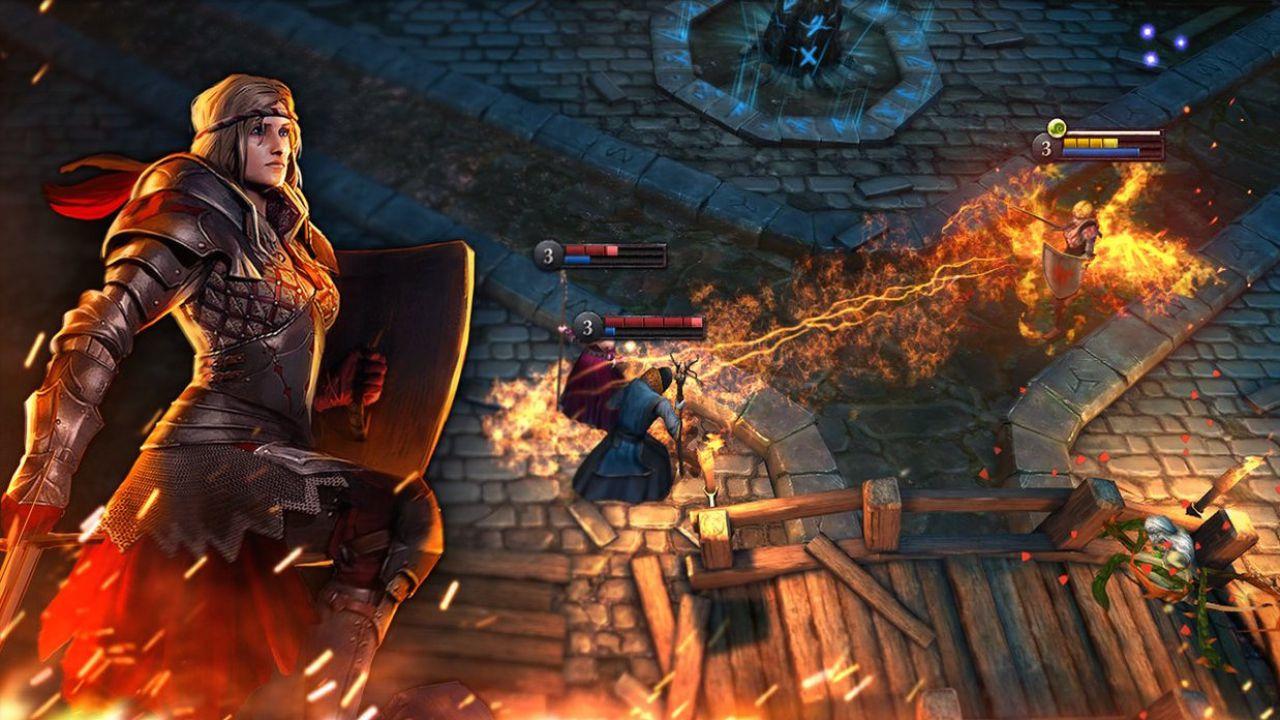 Pubblicato il primo aggiornamento per The Witcher Battle Arena