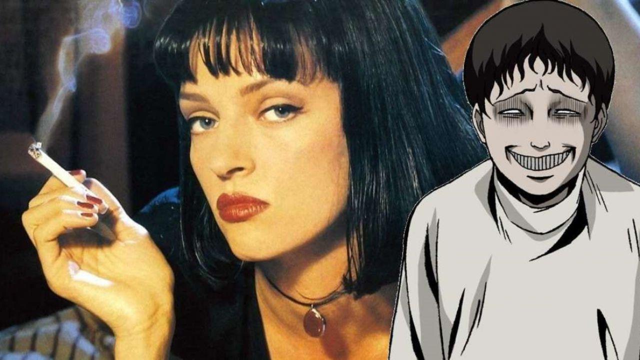 Pulp Fiction nello stile di Junji Ito: la fan art di un utente trasforma Mia Wallace!