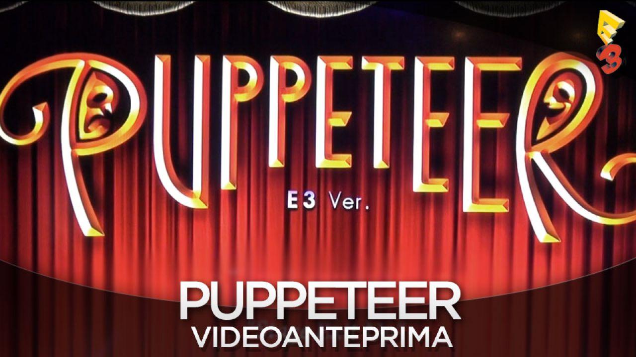 Puppeteer si ispira ai classici platform, e durerà più di 15 ore