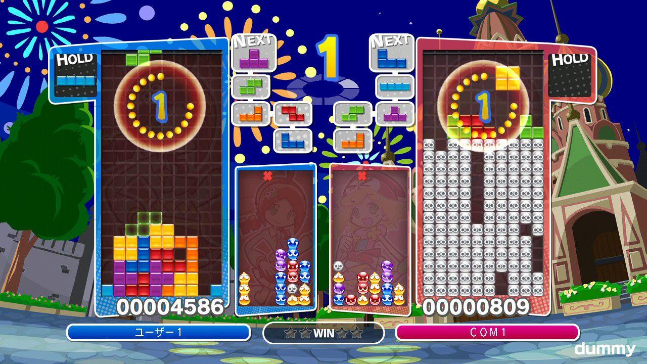 Puyo Puyo Tetris per PlayStation 3, PSVita, Wii U e 3DS