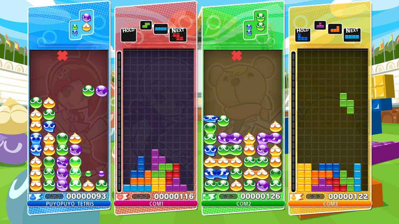 Puyo Puyo Tetris: primi screenshot della versione PS4