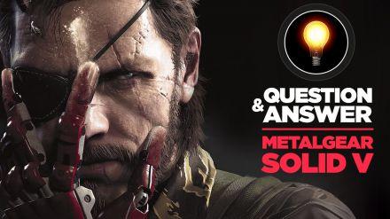 Q&A Live con domande e risposte su Metal Gear Solid 5 The Phantom Pain il 9 giugno alle 15:00