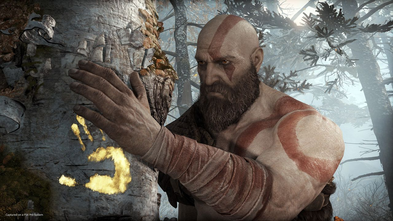 Quale promessa ha fatto Kratos a sua moglie in God of War per PS4?