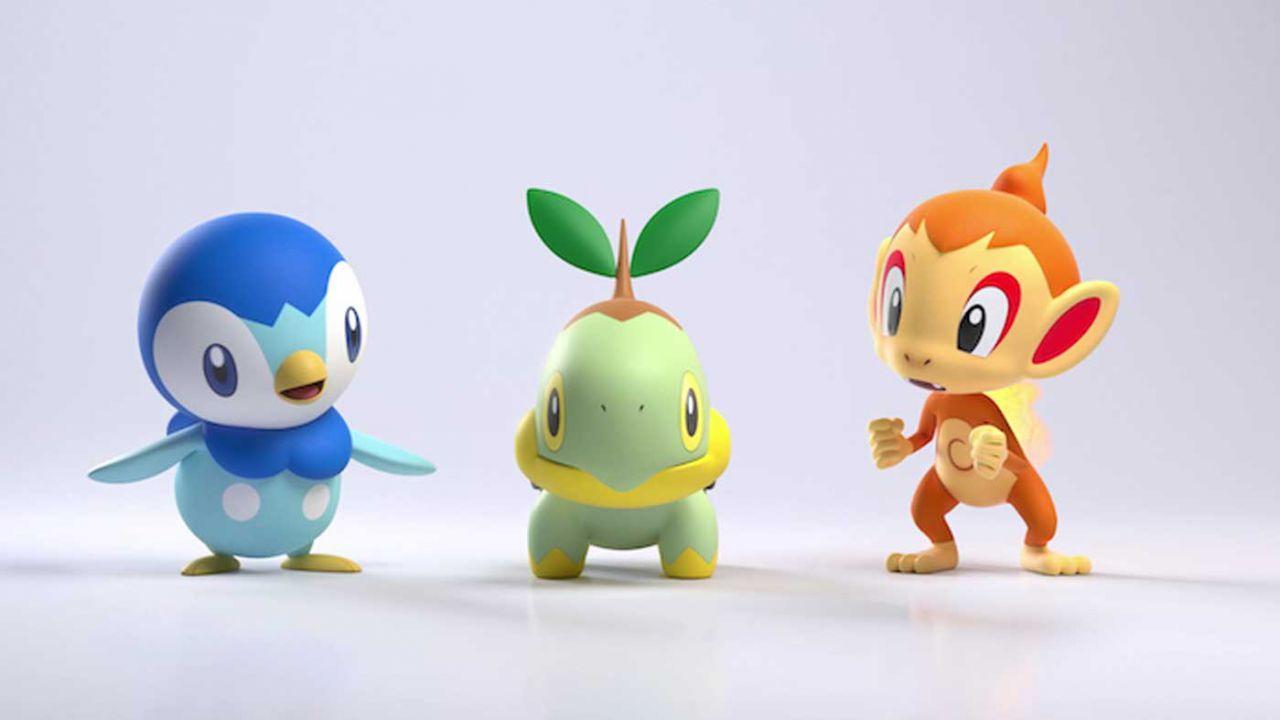 Quali sono i Pokémon Starter di Pokémon Diamante e Perla?