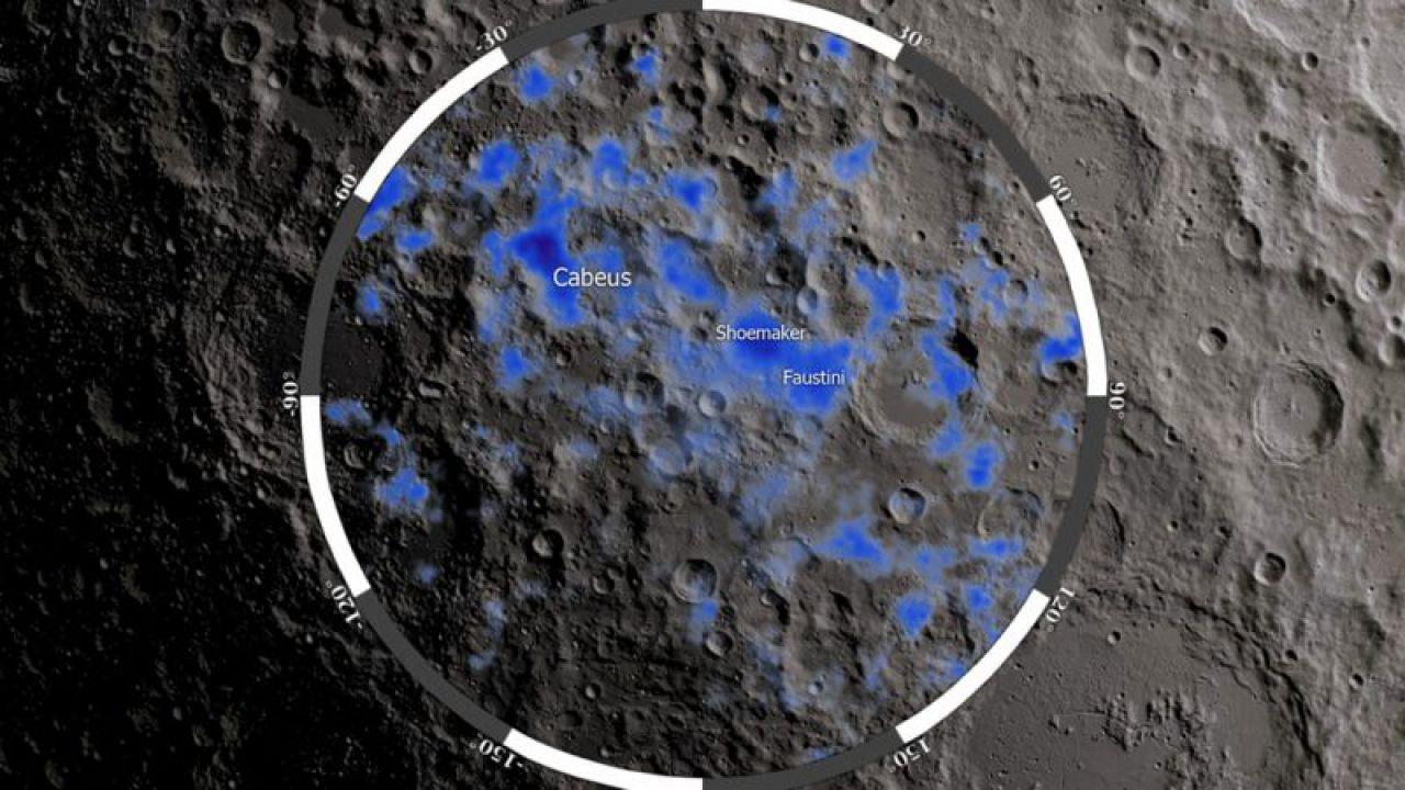 Quando i meteoriti si schiantano sulla Luna fanno fuoriuscire dell'acqua