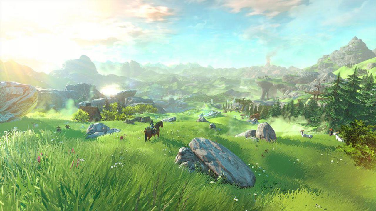 Quanto sarà grande la mappa di The Legend of Zelda per Wii U?