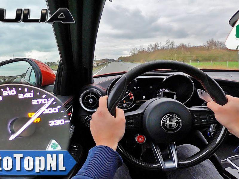 Quanto è veloce la Alfa Romeo Giulia Quadrifoglio nel mondo reale?