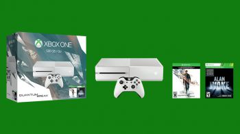 Quantum Break: unboxing Xbox One bianca in edizione limitata