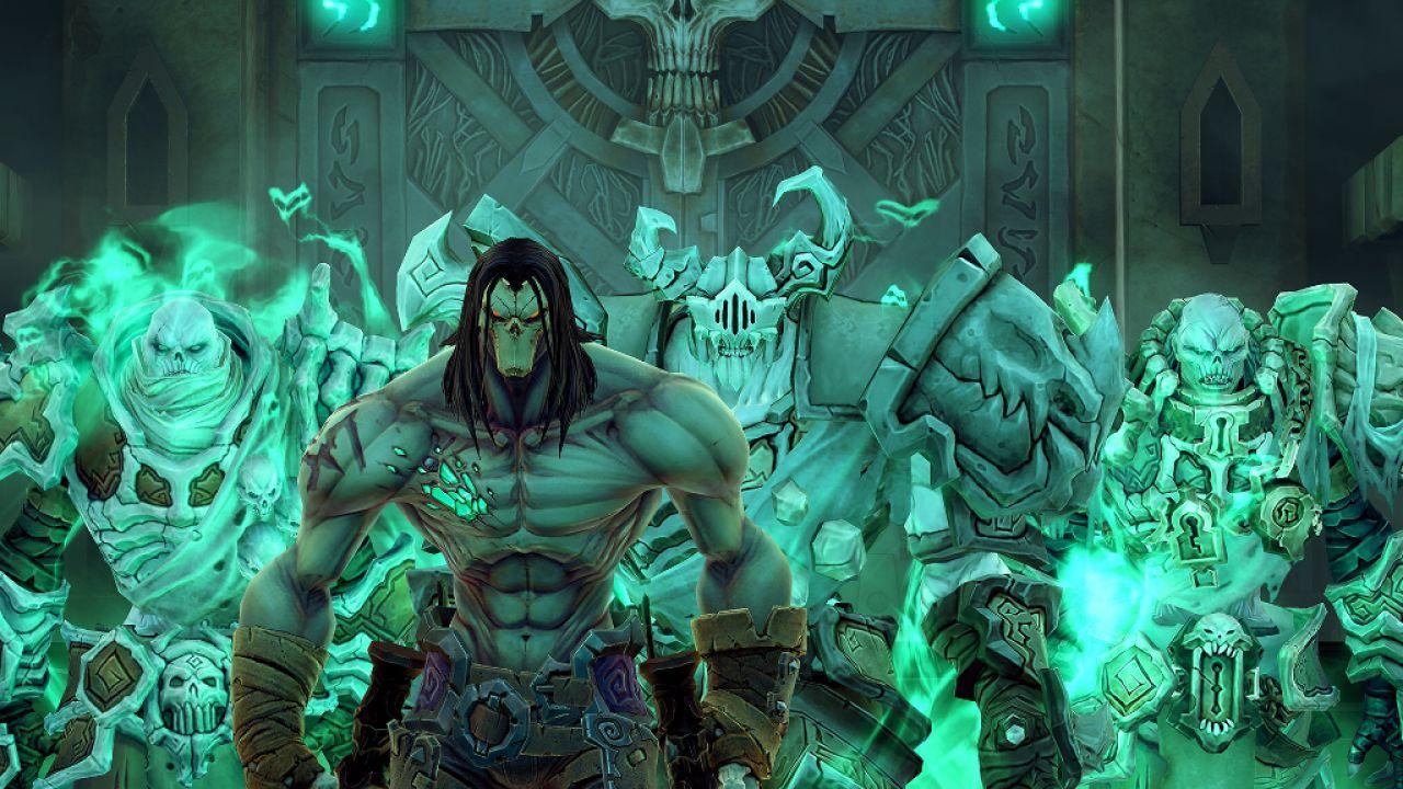 Quattro immagini comparative per Darksiders 2: Deathinitive Edition