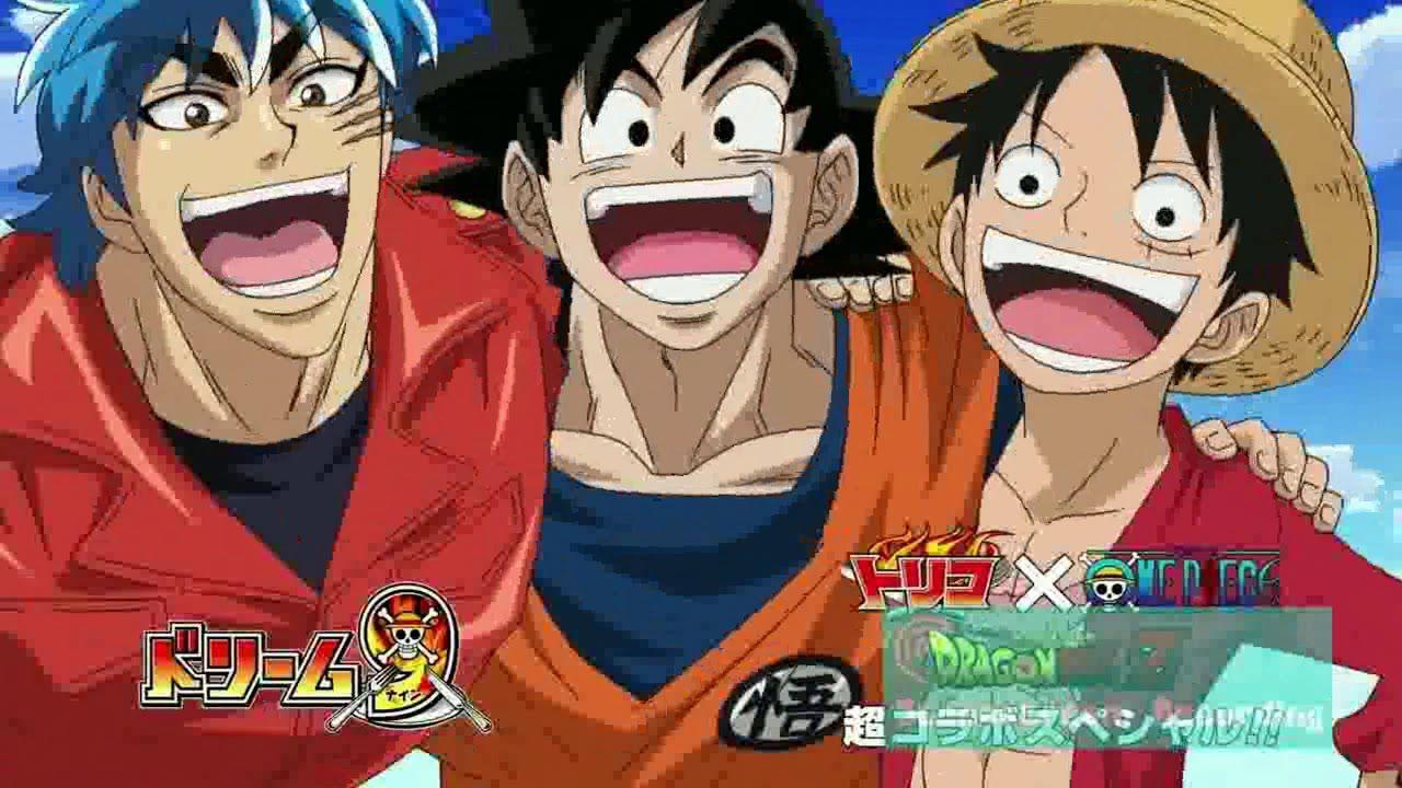 Quella volta che Dragon Ball, ONE PIECE e Toriko si scontrarono in un anime ufficiale