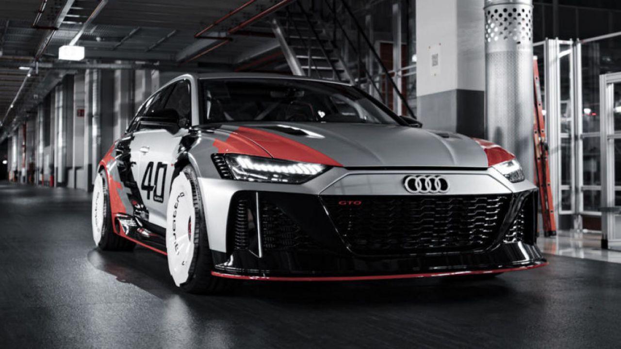 Questa Audi RS6 GTO concept è fantastica e omaggia una vettura del passato