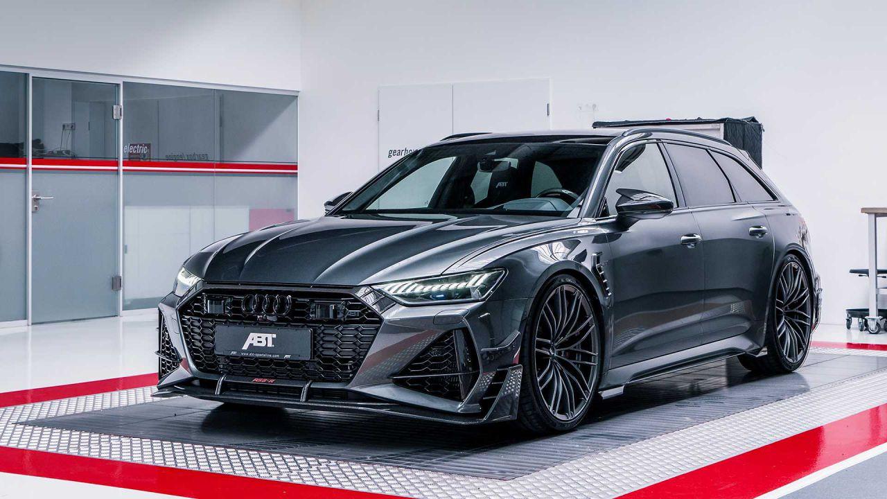 Questa Audi RS6-R Avant di ABT è la station wagon più cattiva di tutte