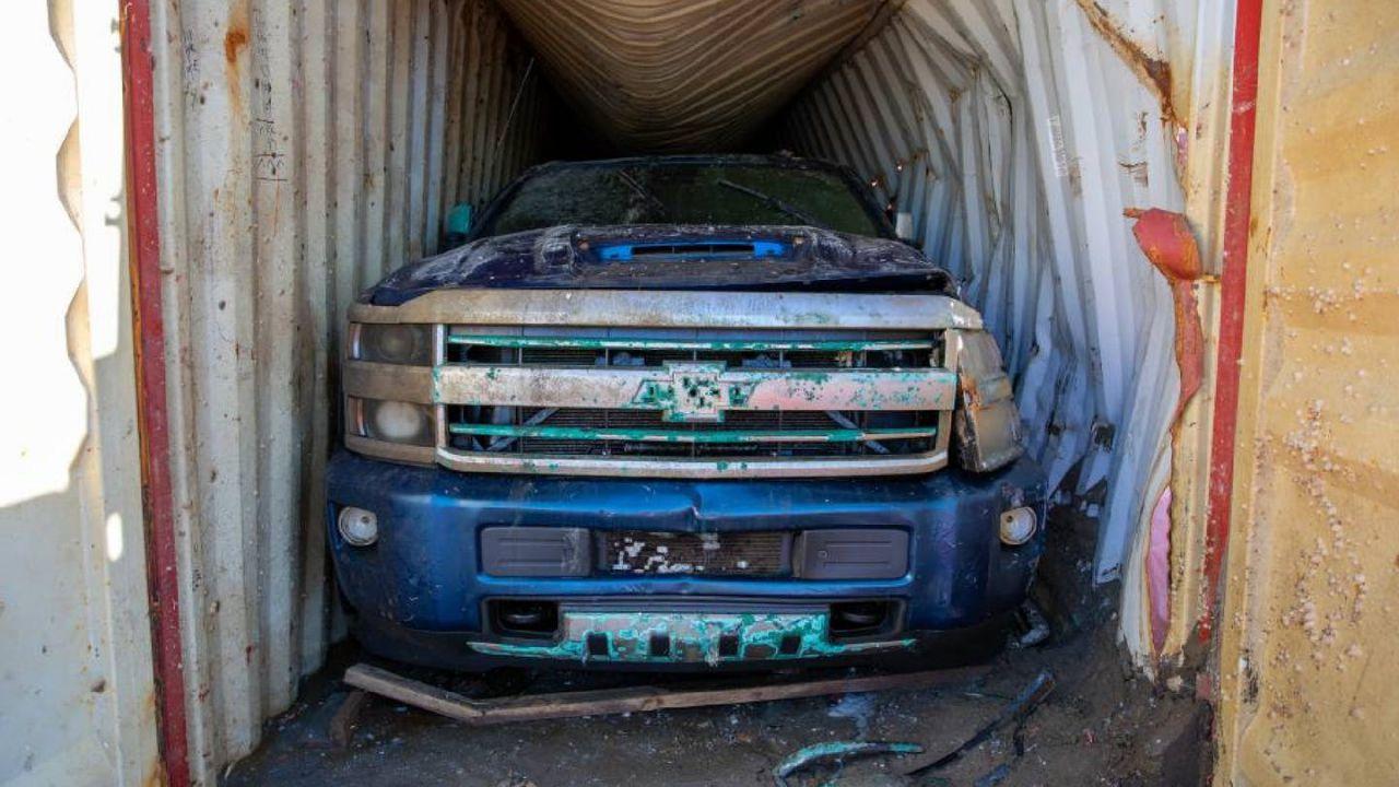 Questa Chevrolet Silverado è stata 22 mesi nelle profondità dell'oceano