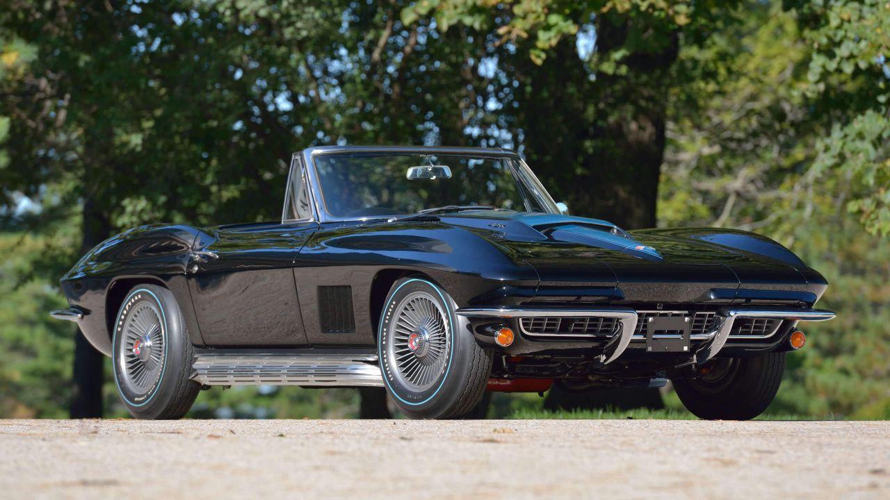 Questa Corvette Convertible del 1967 è unica nel suo genere