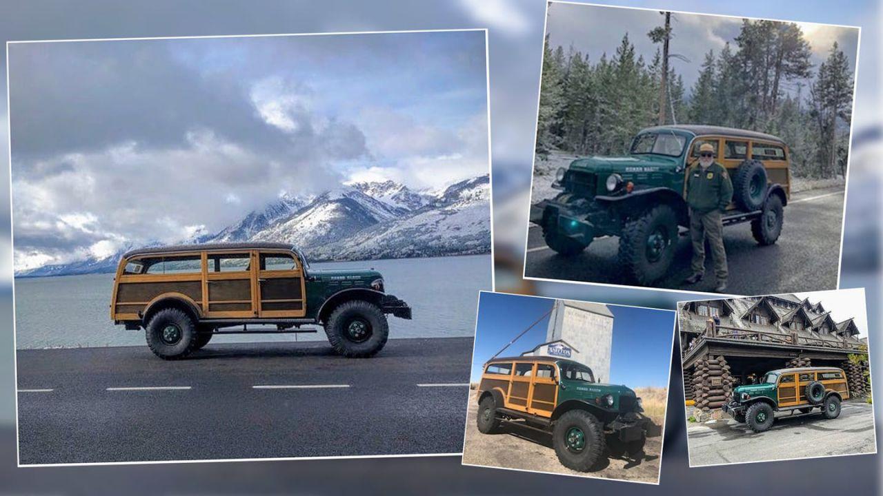 Questa Dodge di legno da 265.000$ è perfetta per l'esplorazione