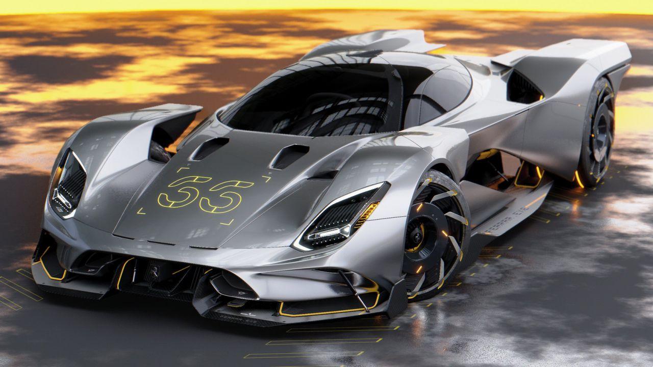 Questa è la Ferrari perfetta per Cyberpunk 2077: si chiama FerRAR.exe