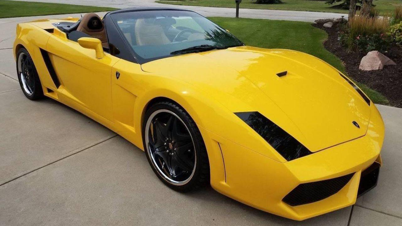Questa Lamborghini Gallardo costa 32.000$ e... non è una vera Lamborghini