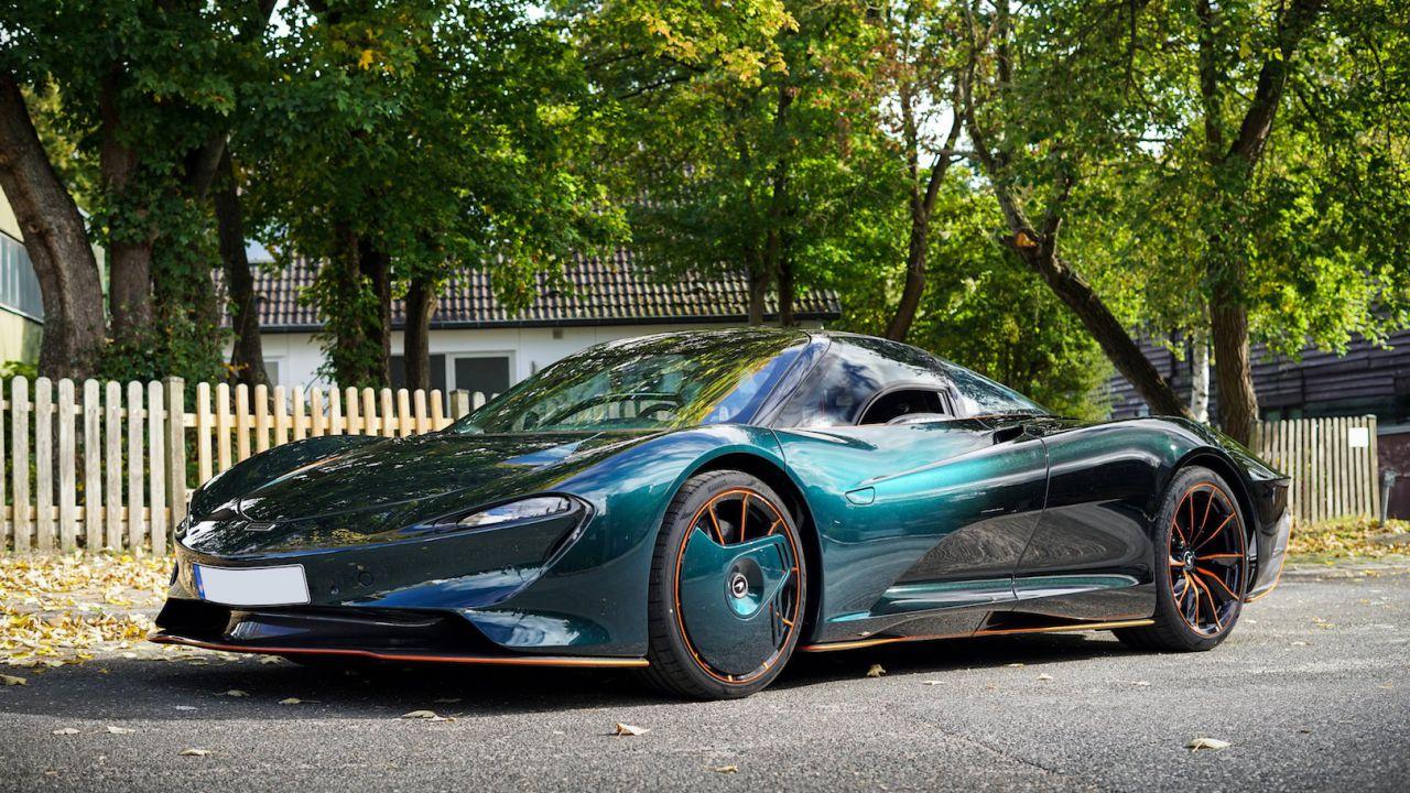 Questa McLaren Speedtail costa 4 milioni di euro, ma c'è un motivo ben preciso