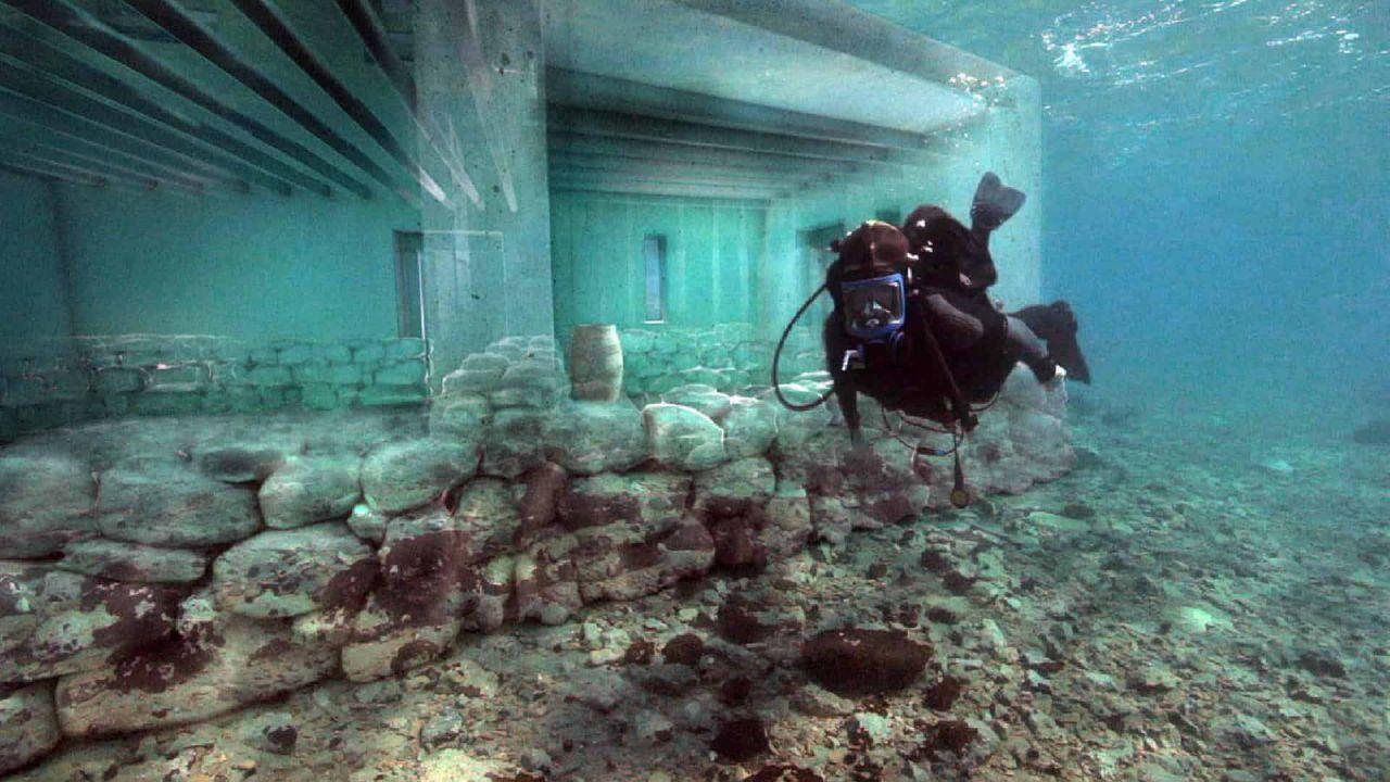 Questa è Pavlopetri, la più antica città sommersa nel Mar Mediterraneo