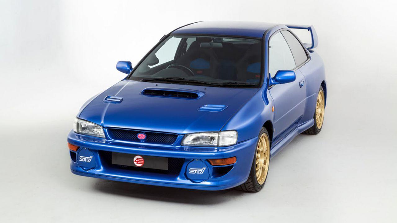 Questa rara Subaru Impreza 22B STi del 1998 vale 100.000 dollari