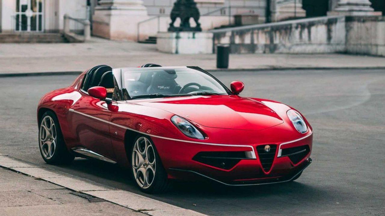 Questa rarissima Alfa Romeo Disco Volante Spyder può essere vostra